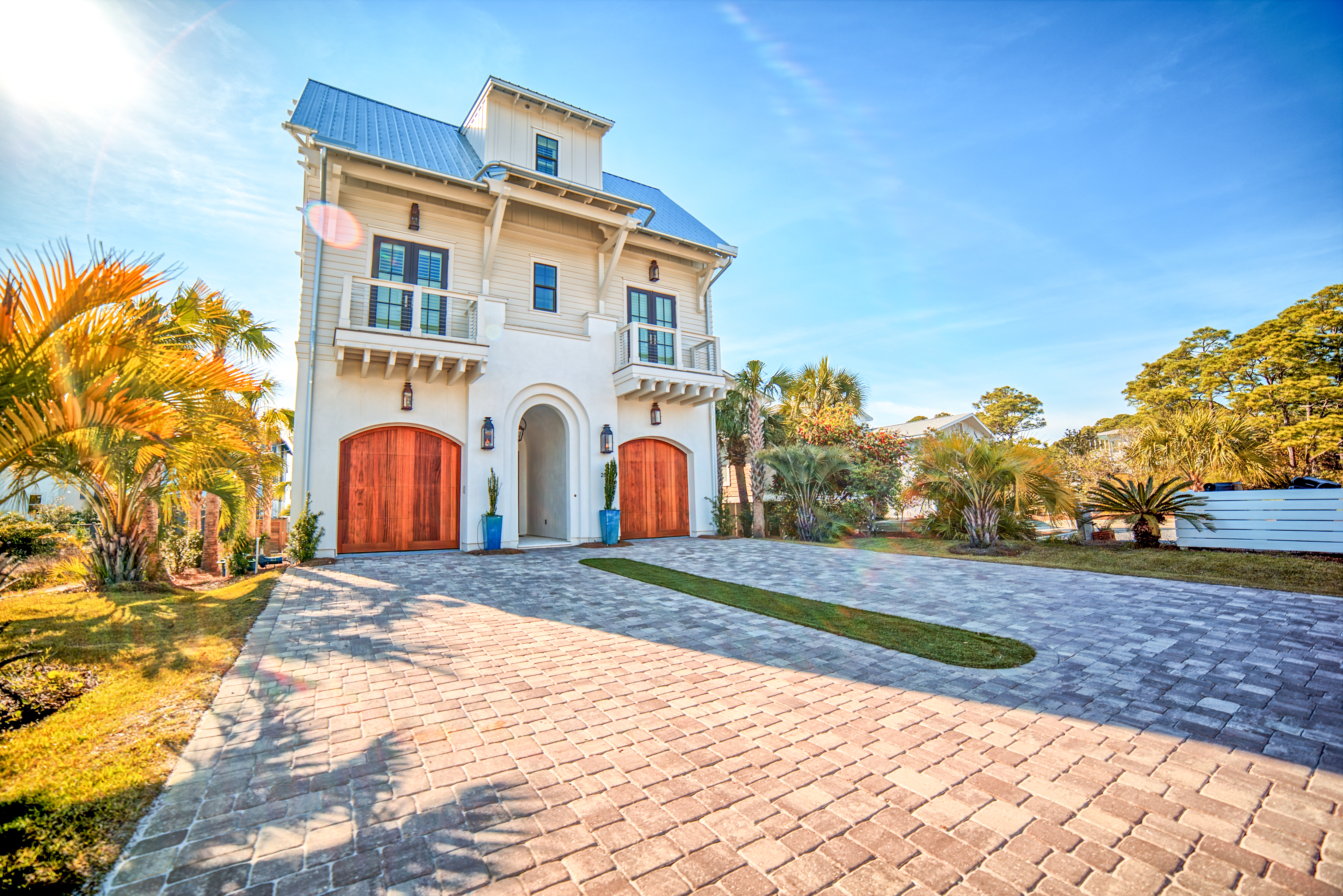 this home is located in the famous grayton beach it is located on magnolia street which is just one street over from the red bar